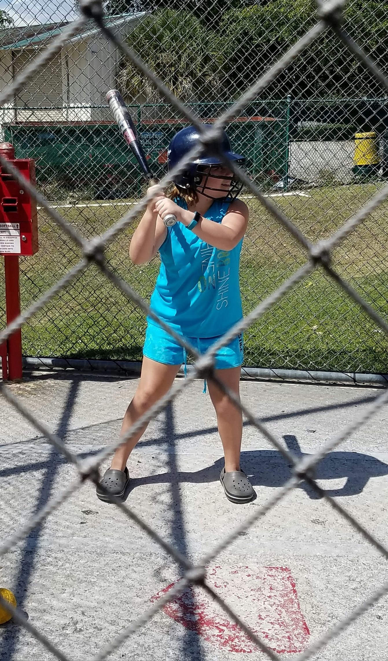 kid batting cage